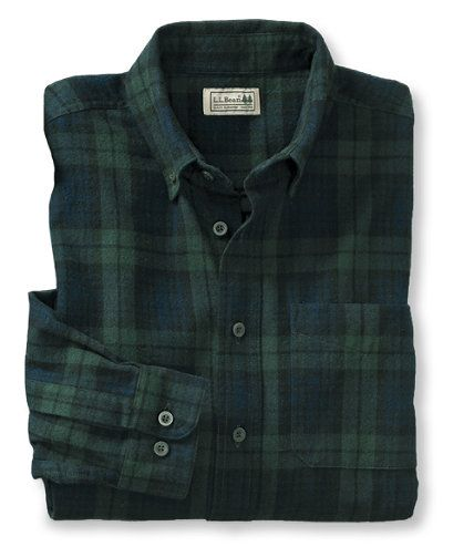 I discovered this Scotch Plaid Flannel Shirt, Traditional Fit: Flannel, Chamois and Lined | Free Shipping at L.L.Bean on Keep. View it now.