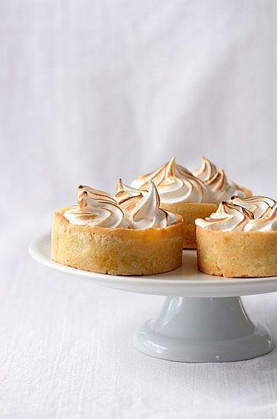 pumpkin meringue tartelettes