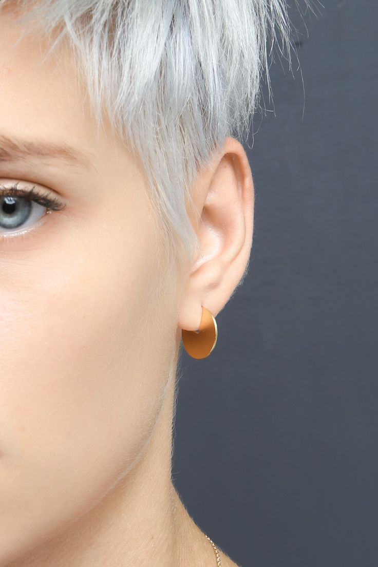 Underground earrings by Shlomit Ofir. Autumn/Winter 2016-17 jewelry collection