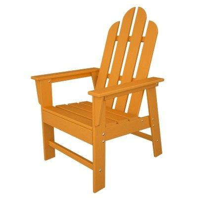 POLYWOOD® Long Island Dining Chair #adirondack #chair #outdoor #patio #armchair #outdoorchair #furniture http://www.acepatiofurniture.com/polywoodr-long-island-dining-chair.html