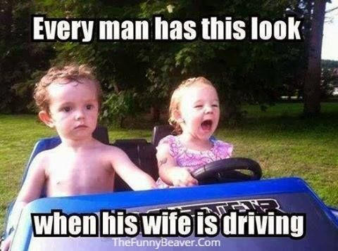 #wife #driving #Sunday #funny #joke #triggered