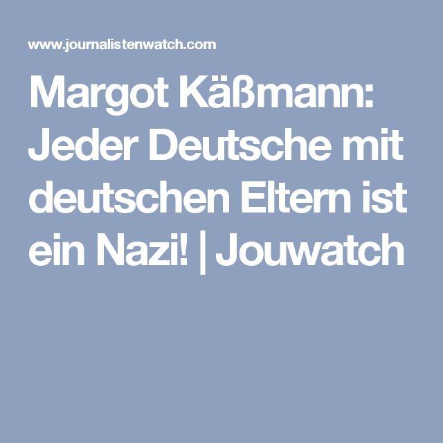 Margot Käßmann: Jeder Deutsche mit deutschen Eltern ist ein Nazi! | Jouwatch