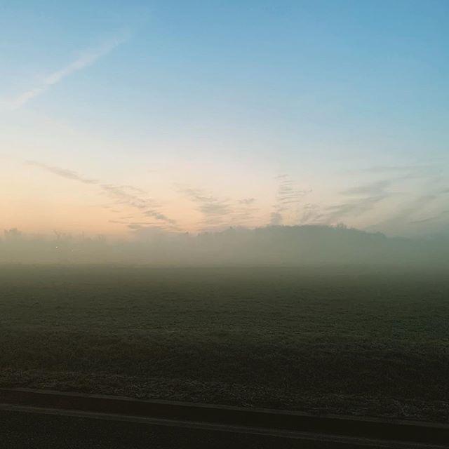 Agnieszkaandpatryk Fog Landscape Iphone Iphonexsmax Sunnyday Field Poznan Polska Poland Instagram Airplane View Scenes