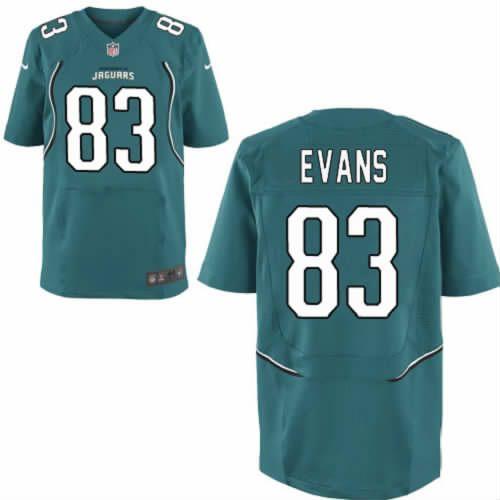 Lee Evans Jersey Jacksonville Jaguars #83 Mens Green Elite Jersey Nike NFL Jersey Sale