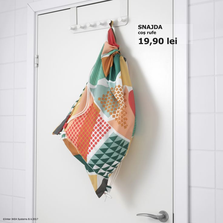 Organizarea hainelor ce trebuie spălate se ridică la un alt nivel. www.IKEA.ro/cos_rufe_SNAJDA