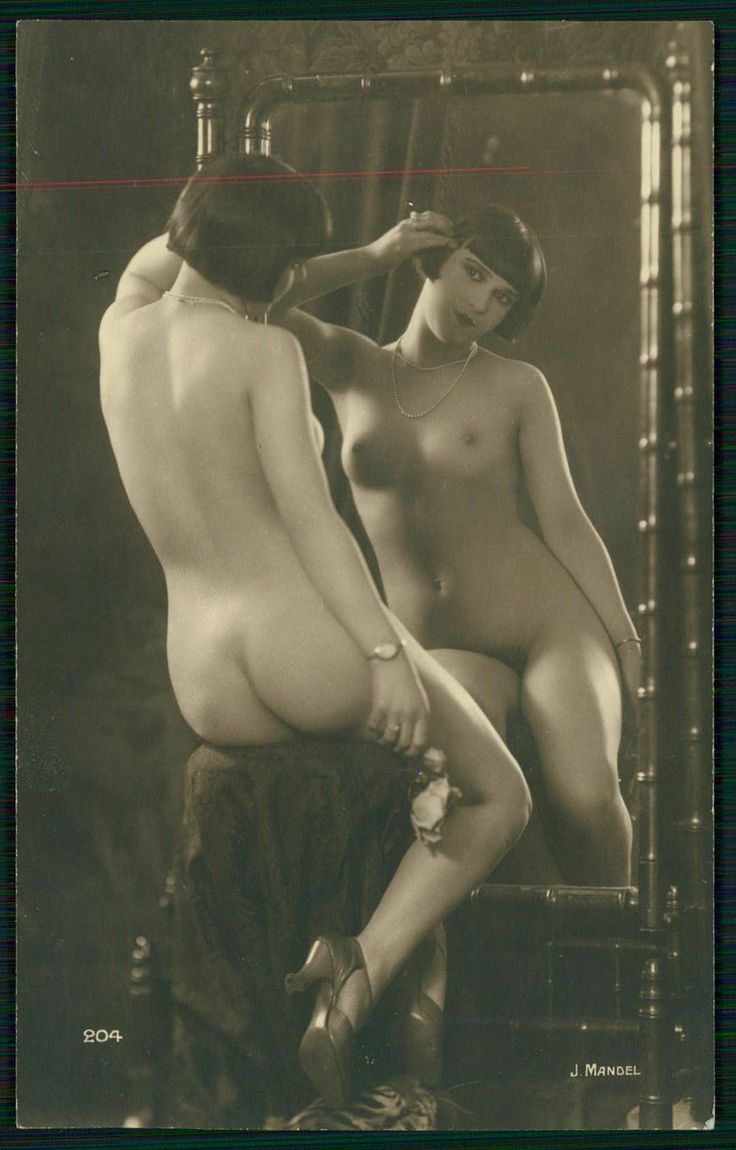 zeigarnik:  Kiki de Montparnasse French Nude Lady vintage 1920s photo postcard