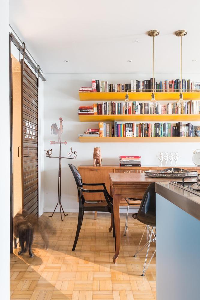 Apartamento Mostardeiro,© Marcelo Donadussi - Porta ferro