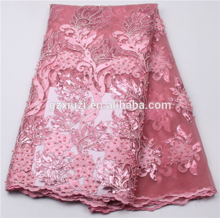 Source Latest dress design materials french lace fabric/ laces nigerian african style XZ30545b on m.alibaba.com