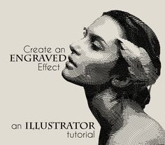 Illustrator Tutorial: How to Create an Engraved Illustration Effect | TransFuchsian | #illustrator #tutorial #engraved illustration #effect