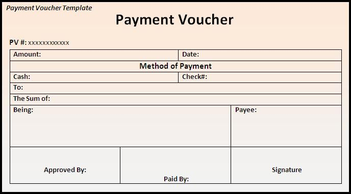 house rent paid voucher