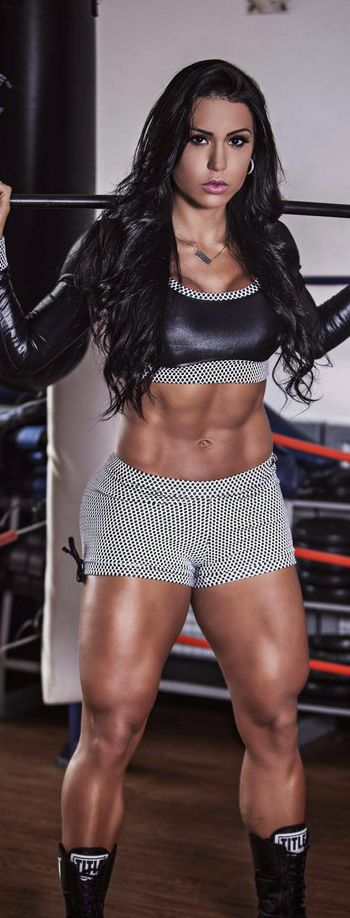 POWERFUL #Fitness model Gracyanne Barbosa : if you love #Health & #Fitspo Inspiration - you'll love the motivational designs at CageCult MMA Fashion: http://cagecult.com/mma