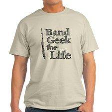 Piccolo Band Geek T-Shirt #marchingbandstuff #hornandcastle