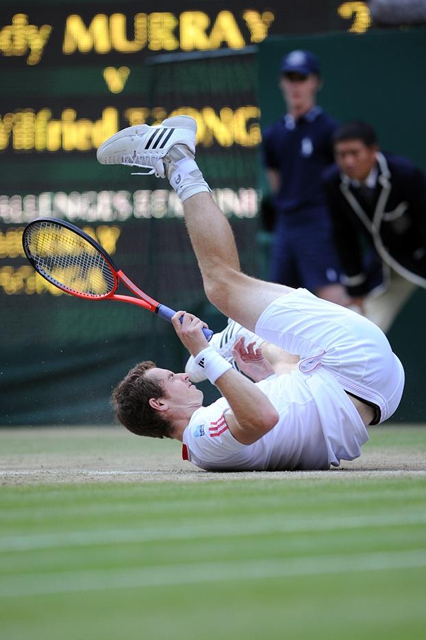 Andy Murray Wimbledon 2012
