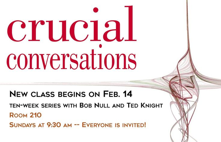 Join Ted Knight and Bob Null on Sunday mornings at 9:30am.