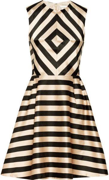 JILL STUART Linda Printed Satin Dress - dressmesweetiedarling
