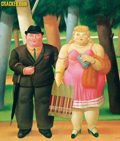 Love it!: Botero 1932, Oil Paintings, Una Coppia, Botero Paintings, Fernandobotero, Artfernando Botero, Art Botero, Botero Art, Botero Angulo