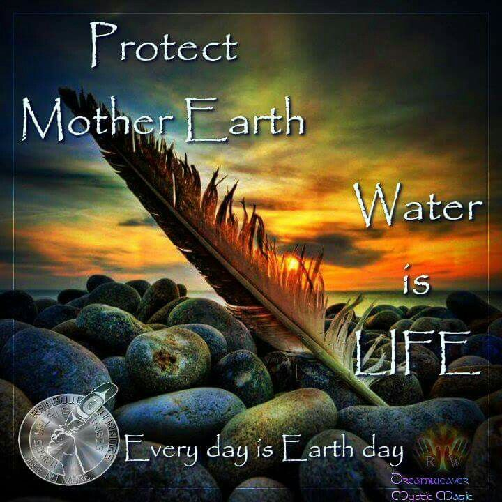 #NoDAPL  Thank you Standing Rock Water & Earth Protectors! Protect Mother Earth!  #WaterIsLife
