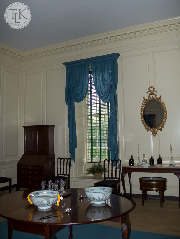 Great Dining Room At The Palace In Colonial Williamsburg, VA