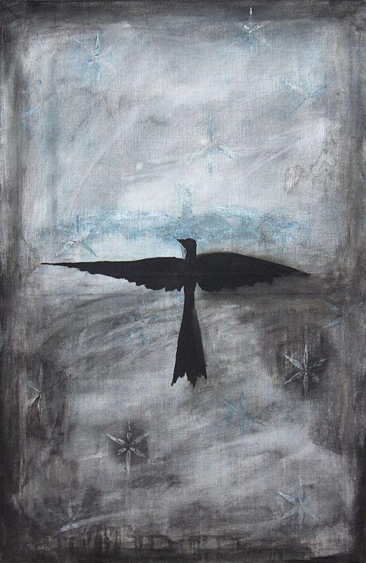 Josef Zacek - Sign, 2007, acrylic on canvas, 120 x 80 cm