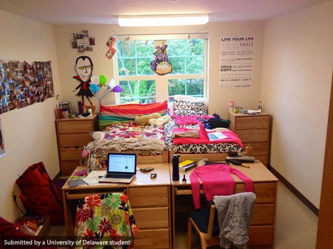 Lane College Dorm Rooms