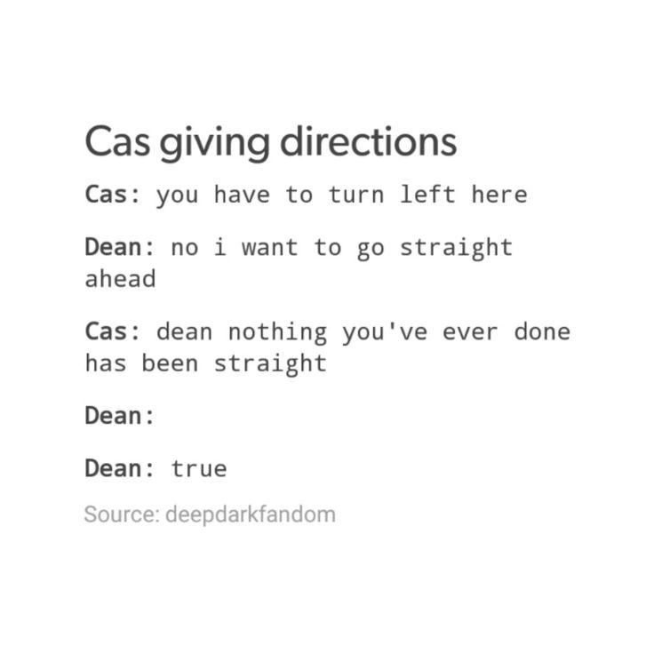 supernatural tumblr textpost destiel cockles funny lol dean winchester castiel cas bisexual dean bi dean bi!dean