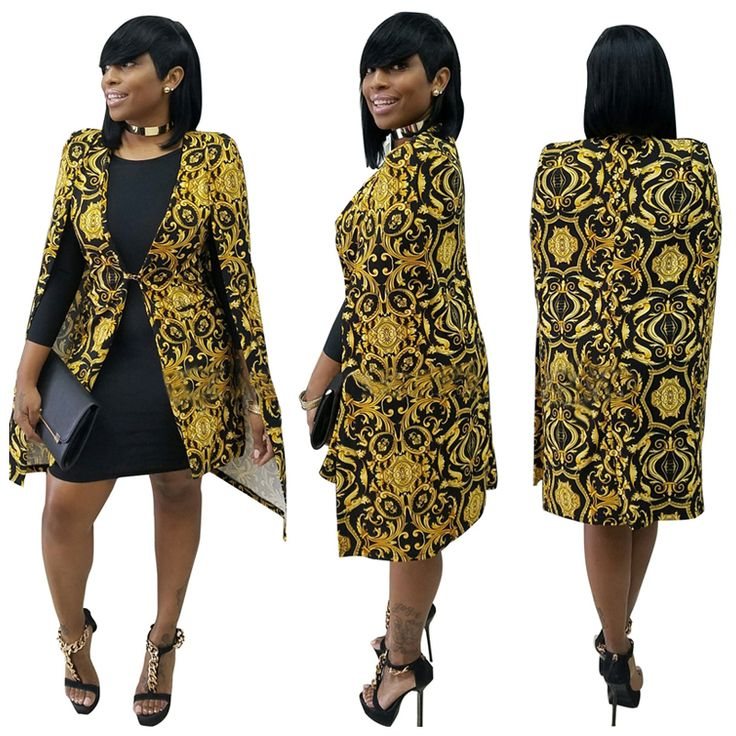 Cheap ladies blazers, Buy Quality blazer women directly from China blazer brand Suppliers: Brand New 2016 Women Long Blazer Jackets Fashion Split Printed Casual Blazer Ladies Cape Suit Thin Women Coat Femininas