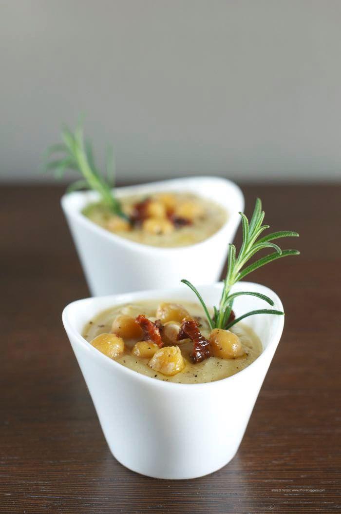 zuppa di ceci e sedano rapa