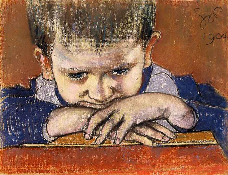 Stanisław Wyspiański, Studium dziecka, 1904 r.