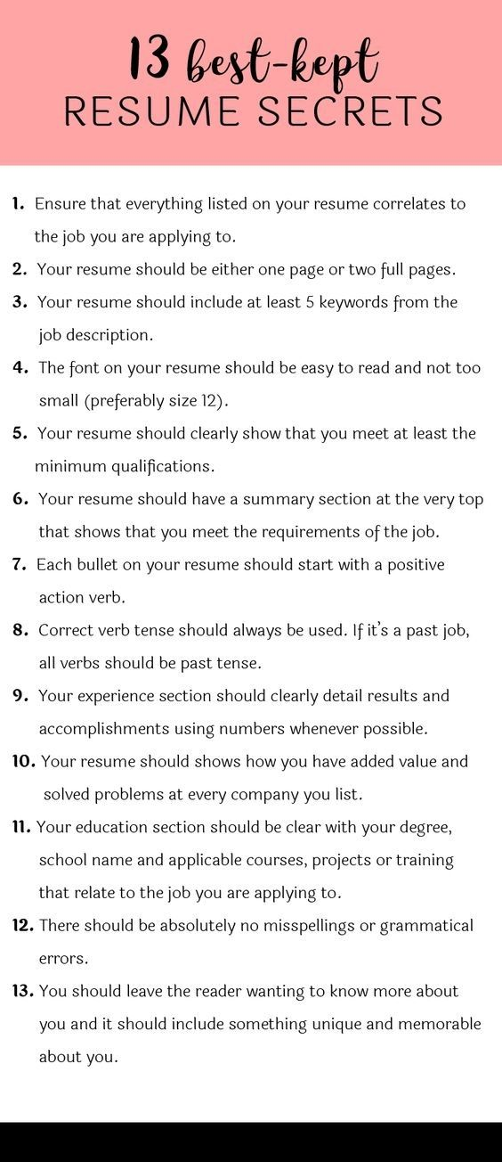 Professional Resume Writing Services In Canada Job info