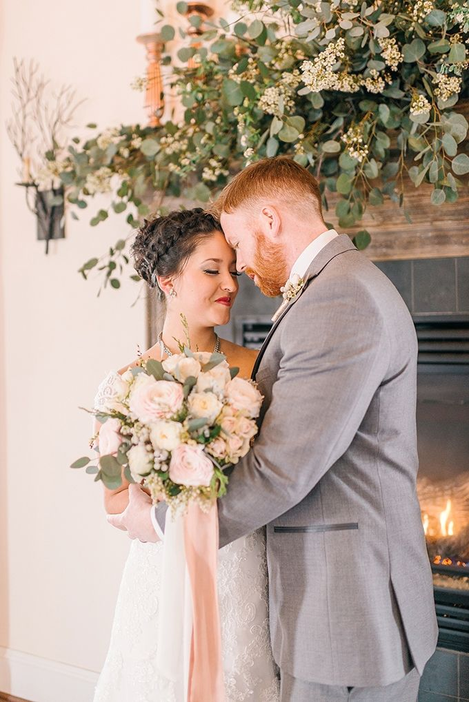 Winter Wedding Ideas - romantic winter wedding inspiration | Amanda Adams Photography | Glamour & Grace