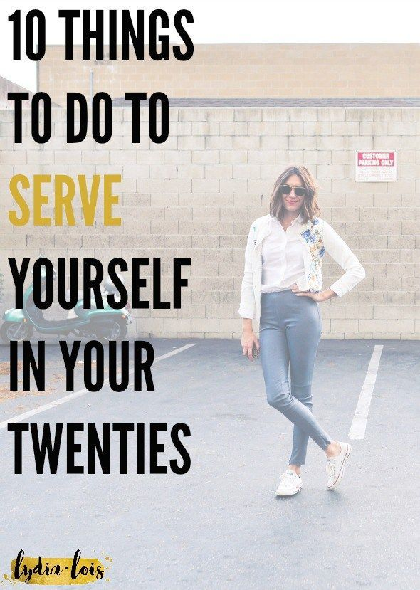 Your twenties might actually be the hardest decade of your life. Because of this fact I've put together a short list of things you can do to help your twenty something years go a little better and how to serve yourself in your twenties, more specifically. Click through to read!