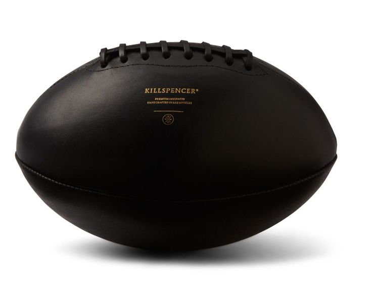 BLACK LEATHER FOOTBALL – Killspencer