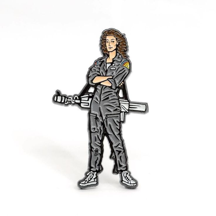 Repost @psa_press  Now shipping worldwide  Our tribute to one of the most significant protagonists in all of cinema Ellen Ripleylink to purchase in bio or psapress.com  Ridley Scott insisted on casting Sigourney Weaver as the lead for ALIEN (1979) and created a truly unique heroine in a film landscape crowded with muscle-bound heroes.    (Posted by https://bbllowwnn.com/) Tap the photo for purchase info.  Follow @bbllowwnn on Instagram for the best pins & patches! [Image Description: Enamel…