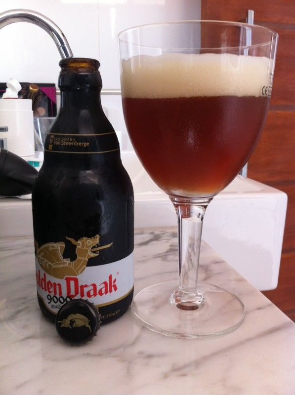 Cerveja Gulden Draak 9000 Quadruple, estilo Belgian Quadrupel / ABT, produzida por , Bélgica. 10.7% ABV de álcool.