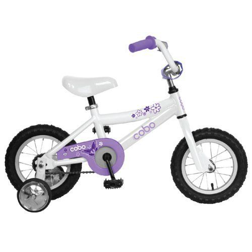 """The Cobo 12"""" is the perfect starter bike for your little ones. With its lightweight aluminum frame and training wheels your child will be tearing up the road in no time. Cobo Bikes are designed and spec'd with imput from some of the best Independent Bicycle Dealers in the United... more details available at https://perfect-gifts.bestselleroutlets.com/gifts-for-babies/kids-bikes-accessories/product-review-for-cobo-g-w-12-girls-bicycle/"""
