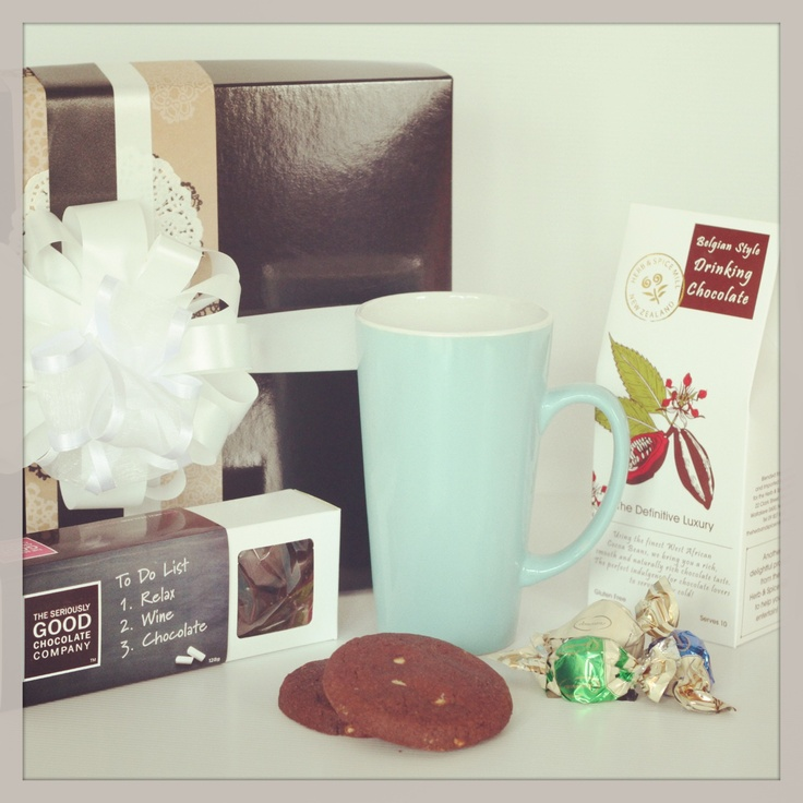 Hot Chocolate Delight - order for Mothers Day from The Pressie Box! www.thepressiebox.co.nz