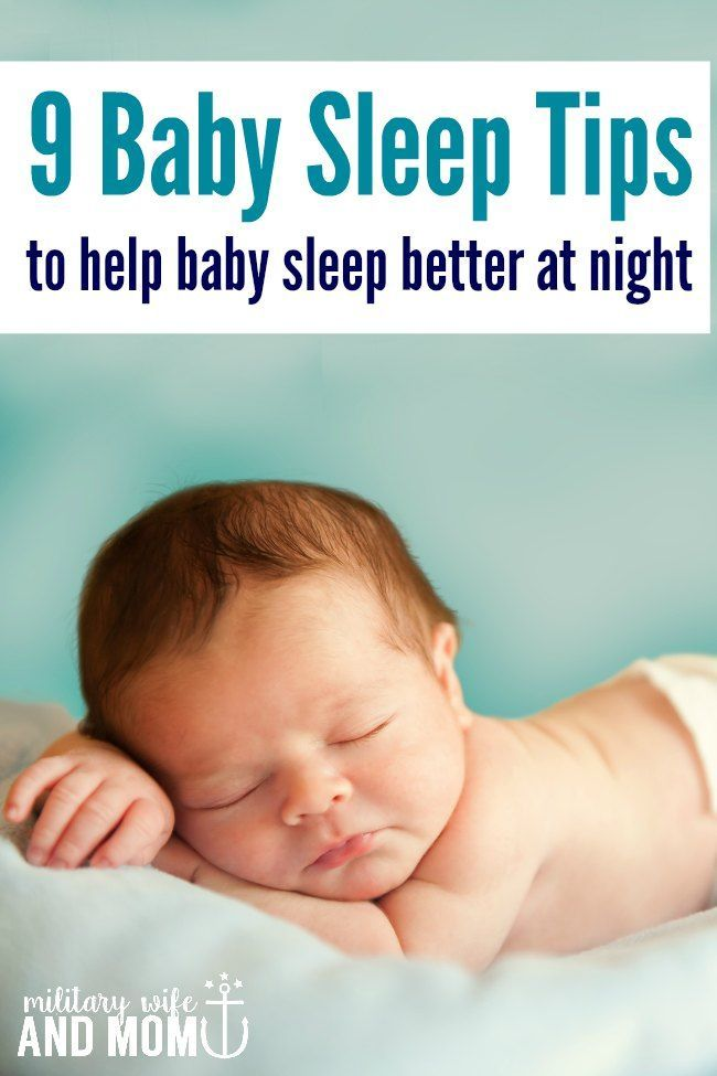 These baby sleep tips put my infant straight back to sleep EVERY TIME! | newborn sleep tips | sleeping through the night | tips to help baby sleep via @lauren9098