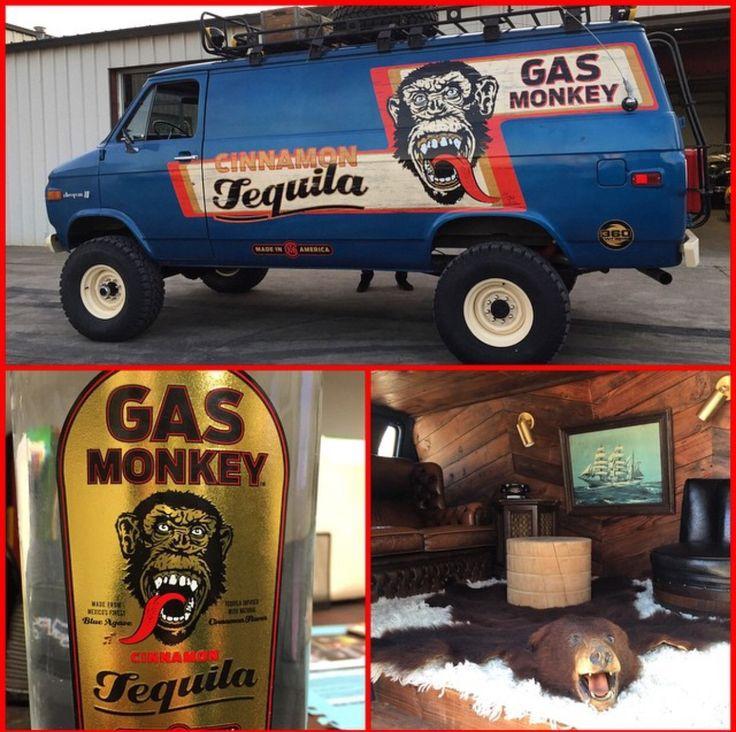 Gas Monkey Cinnamon tequila Van