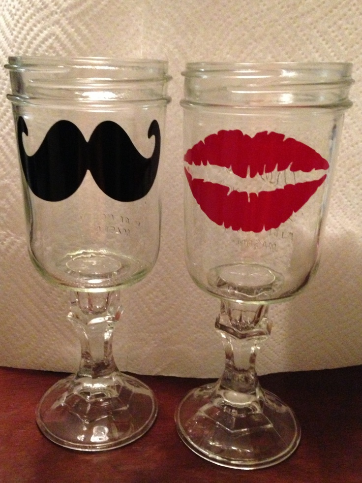 1000 images about mason jars on pinterest awesome mason jar wine and mason jar wine glass - Mason jar goblets ...