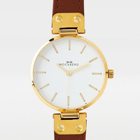 Mockberg luxury gold watch! Get yours at www.norgeshandelen.no