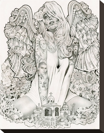Money Angel by Mouse Lopez