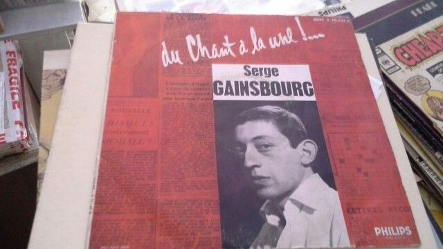 Serge Gainsbourg 10 pollici 33 giri rarissimo