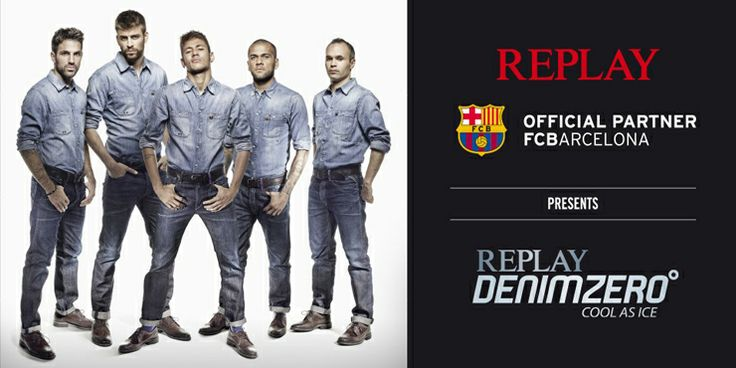 REPLAY OFFICIAL PARTNER FC BARCELONA