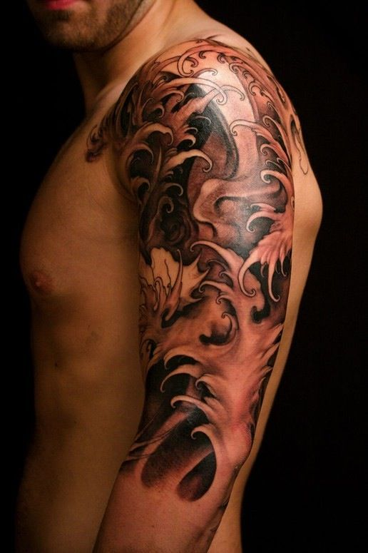 Half Sleeve Tattoo Mens: Top 57 Best Tattoo Ideas [2020 Inspiration Guide]