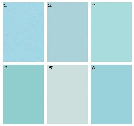 Tiffany Blue Paints Tiffany