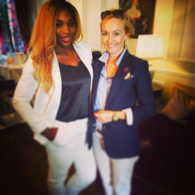 "Polubienia: 483, komentarze: 20 – Sarah Ann Murray (@sarah_ann_murray) na Instagramie: ""Cover photo shoot with World No. 1 women's tennis player, Serena Williams for sister magazine…"""