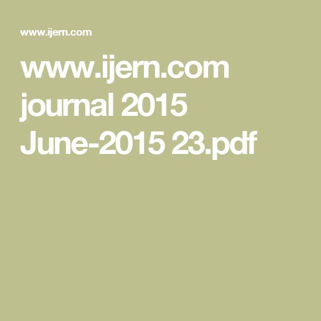www.ijern.com journal 2015 June-2015 23.pdf