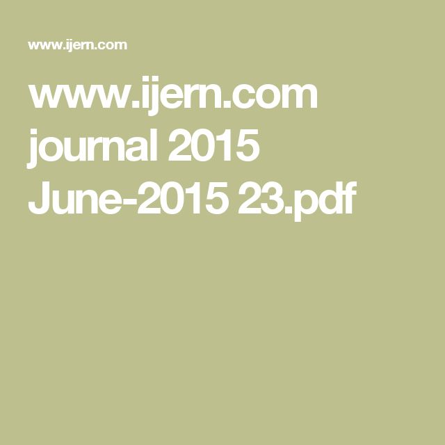 www.ijern.com journal 2015 June-2015 23.pdf