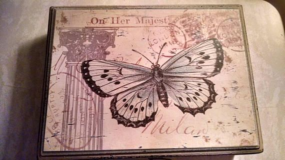 Check out this item in my Etsy shop https://www.etsy.com/listing/534957415/butterfly-box