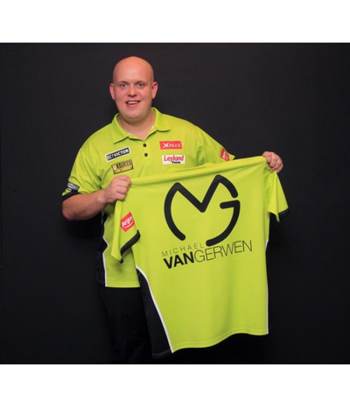 Michael van Gerwen Official Replica Playing Shirts